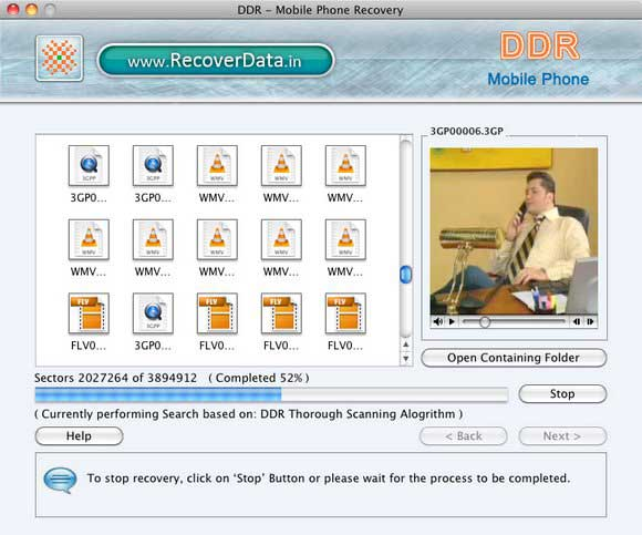Phone Mac File Recover 4.0.1.6