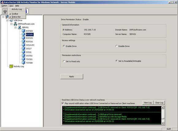USB Drive Blocker Software