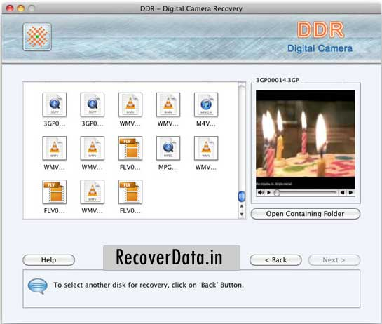 Efficient Mac camera data retrieve program